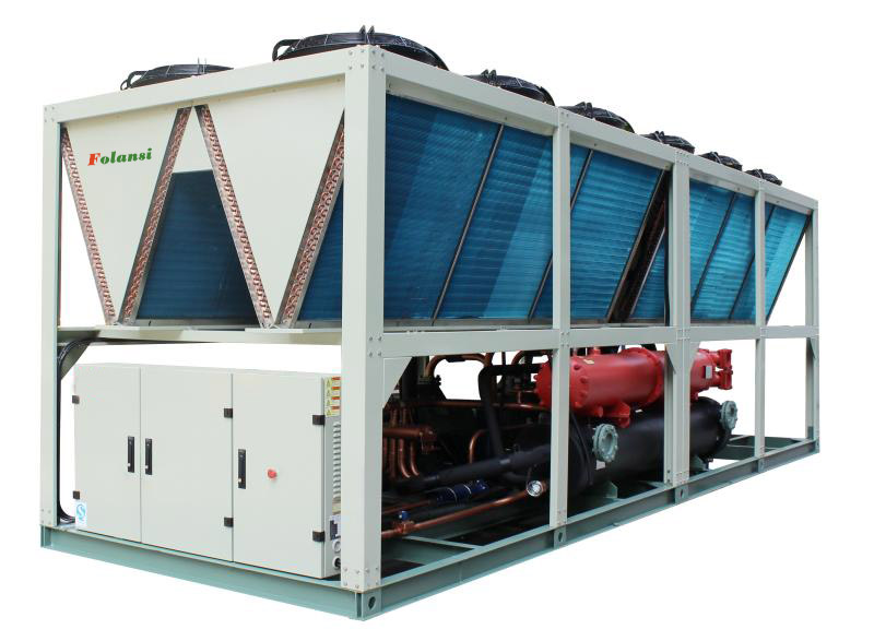 China Manufacturer 200rt And 400 Ton Industrial Energy Saving Screw Air Cooled Chillers